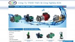 website công nghiệp Công ty TNHH Thiết Bị Công Nghiệp SGN