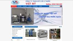 website công nghiệp Công ty xử lý nước Việt Mỹ