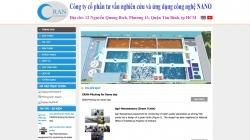 website dịch vụ Công ty Cổ phần tư vấn nghiên cứu và ứng dụng công nghệ NANO