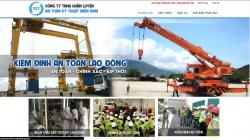 website dịch vụ Công Ty TNHH Huấn Luyện An Toàn Kỹ Thuật Miền Nam