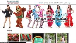 Website dịch vụ Công Ty Tnhh Sx -Tm – Dv Thái Nam Việt