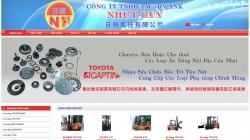website dịch vụ Công Ty Tnhh Tm Dv Xnk Nhựt Tân Nhựt Huy