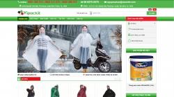 website dịch vụ Công ty Vipackit
