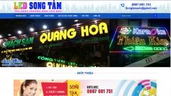 website dịch vụ Quảng Cáo Led Song Tâm