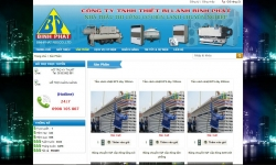 website điện lạnh công ty thiết bị điện lạnh Bình Phát