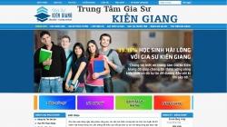 website giáo dục Trung Tâm Gia Sư Kiên Giang