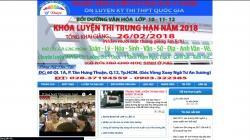 website giáo dục Trung Tâm Luyện Thi Đại Học Y Dược Tp Hcm