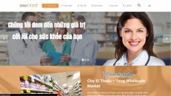 website giới thiệu doanh nghiệpCông Ty Tnhh Thương Mại Vinacost được thiết kế bởi web số