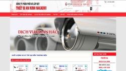 website linh kiện điện tử Công Ty phân phối và lắp đặt thiết bị an ninh Nacadivi