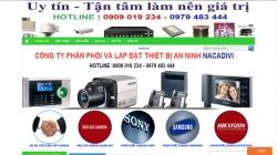 website linh kiện điện tử Công Ty Tnhh Sx Xnk Nacadivi