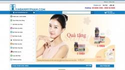 website mỹ phẩm của Công Ty Tnhh Tm Vinacost