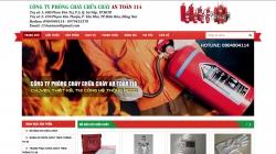 website phòng cháy chữa cháy Công Ty Tnhh Xnk-Tm-Dv Pccc An Toàn 114