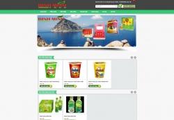 website thực phẩm công ty Bình MInh Food