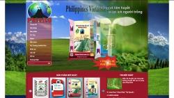 website thuỷ sản nông sản Công Ty TPhivico