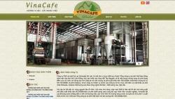 website thuỷ sản nông sản Vinacafe Đà Lạt