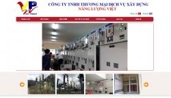 website Công ty TNHH TM DV XD Năng Lượng Việt